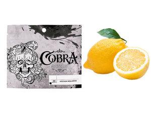 Табак для кальяна на основе чайной смеси Cobra Origins Lemon (кобра лимон) 50г