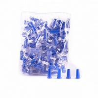 Одноразовые мундштуки синие