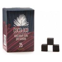 Уголь кокосовый Cocoloco (25 мм, 72 кубика) 1 кг