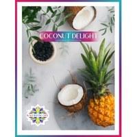 Табак для кальяна на основе чайной смеси Kaleidoscope Coconut Delight (Кокосовое Наслаждение) 50 гр