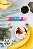 Табак для кальяна на основе чайной смеси Kaleidoscope Banana Split (Банановый Сплит) 50 гр