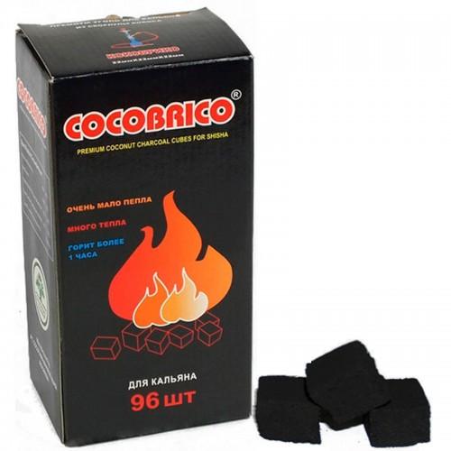 Уголь  кокосовый Cocobrico 96 штук 1 кг