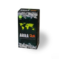 Уголь кокосовый Арра 22мм 96 кубиков 1 кг