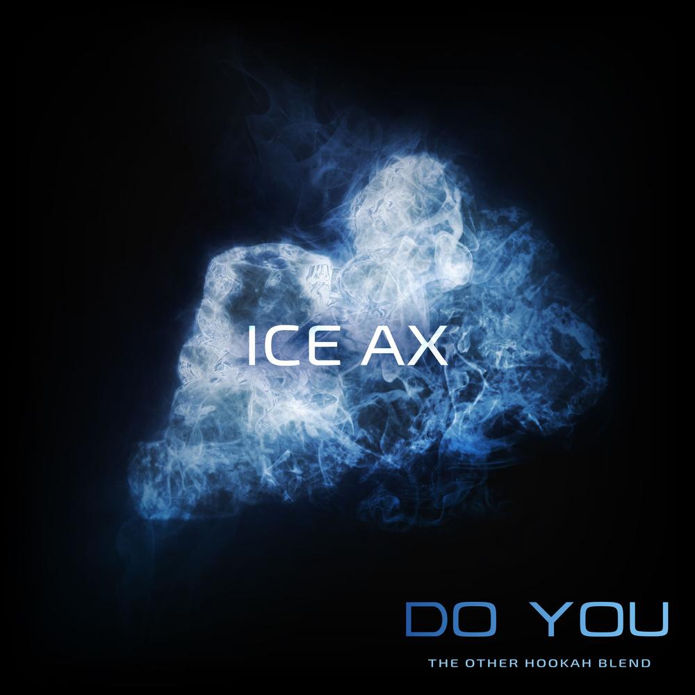 Табак для кальяна на основе чайной смеси Do you Ice Ax (Ледяная Мятная Жвачка) 50 гр
