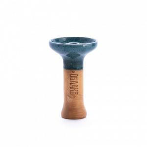 Чаша для кальяна Облако Phunnel M Glaze Top 12 Зелёный Топаз