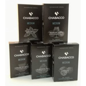 Табак для кальяна на основе чайной смеси Chabacco Northern Berry Medium 50 гр