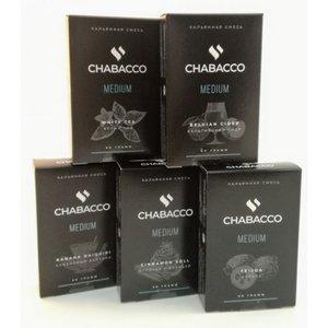 Табак для кальяна на основе чайной смеси Chabacco Lemongrass (Лемонграсс) Medium 50 гр
