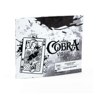 Табак для кальяна на основе чайной смеси Cobra Virgin Passion Fruit (Маракуйя) 50 гр