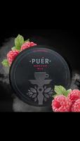 Табак для  кальяна на основе чайной смеси Puer Garden Raspberry (Садовая Малина) 100 гр