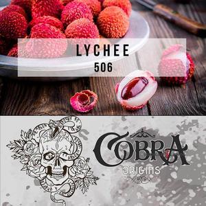 Табак для кальяна на основе чайной смеси Cobra Origins Личи 50 гр