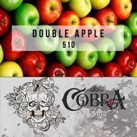 Табак для кальяна на основе чайной смеси Cobra Origins Double Apple (Двойное яблоко) 50 гр