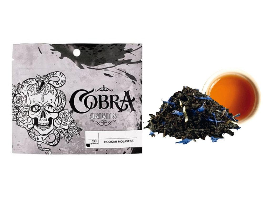 Табак для кальяна на основе чайной смеси Cobra Origins Earl Grey (Кобра Эрл Грей) 50г
