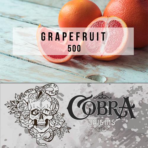 Табак для кальяна на основе чайной смеси Cobra Origins Grapefruit (кобра грейпфрут) 50 гр