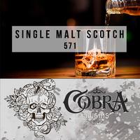 Табак для кальяна на основе чайной смеси Cobra Origins Single Malt Scotch (Кобра Односолодовый Виски) 50г