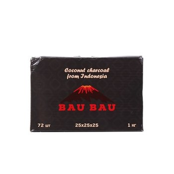 Уголь кокосовый Bau Bau 72 кубика