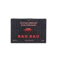Уголь кокосовый Bau Bau 1кг 96шт 22мм
